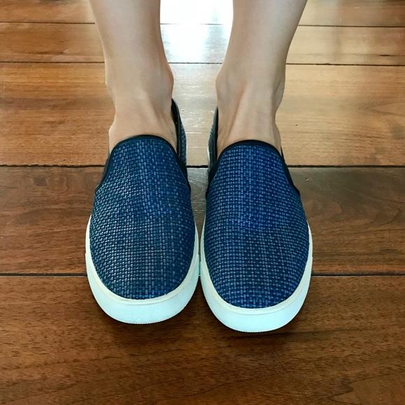 Vince Shoes - Vince Blair Slip-on Sneaker- Blue Weave